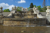 Famous baroque fountain. — Stock Photo