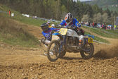 Sidecars race — Stock Photo