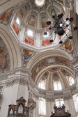 Interior of the Basilica of St. Peter in Salzburg — Stock Photo