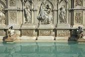 Fonte Gaia Fountain in Siena (Tuscany, Italy) — Stock Photo