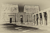 The Temple of Isis at Philae island. ( Egypt)  — Foto Stock