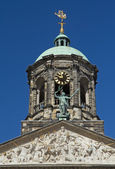Royal Palace at the Dam Square, Amsterdam.  — Foto Stock