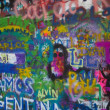 Постер, плакат: John Lennon Wall in Prague