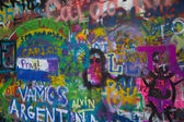 John Lennon Wall in Prague — Stock Photo