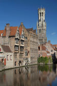 The historic center of Bruges — Stock Photo