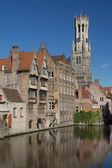 The historic center of Bruges — Foto de Stock