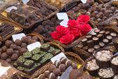 Chocolate candies — 图库照片