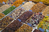 Nuts at the farmers market — Foto Stock