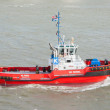 Red tug — Stock Photo