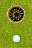 Hole in One - ALMOST! — Stock Photo