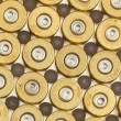 Empty 9mm bullet casings — Stock Photo
