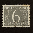 THE NETHERLANDS - CIRCA 1950: Stamp printed in the Netherlands - Stock Photo