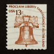 Stock Photo: US- CIRC1975: Stamp printed in USA