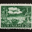 SURINAME - CIRCA 1970: Stamp printed in Suriname — Stock Photo