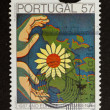 Royalty-Free Stock Photo: PORTUGAL - 1987: Stamp printed in Portugal