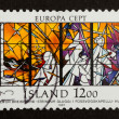 Stock Photo: ICELAND - 1987: Stamp printed in Iceland