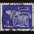 IRELAND - CIRCA 1980: Stamp printed in Ireland — Стоковая фотография