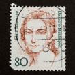 GERMANY - CIRCA 1970: Stamp printed in Germany - Stock Photo