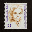 GERMANY - CIRCA 1970: Stamp printed in Germany — Stock Photo #12500703
