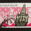 BELGIUM - CIRCA 1970: Stamp printed in Belgium — Stock Photo