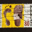 HOLLAND - CIRCA 1990: Stamp printed in the Netherlands - Stock Photo