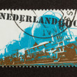 HOLLAND - CIRC1980: Stamp printed in Netherlands — Stock fotografie #12500868
