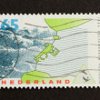 Stock Photo: HOLLAND - CIRC1980: Stamp printed in Netherlands