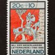 HOLLAND - CIRCA 1970: Stamp printed in the Netherlands - Стоковая фотография