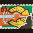 HOLLAND - CIRCA 1990: Stamp printed in the Netherlands - Стоковая фотография