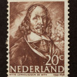 HOLLAND - CIRCA 1960: Stamp printed in the Netherlands - Стоковая фотография