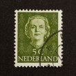 HOLLAND - CIRCA 1970: Stamp printed in the Netherlands - Stock Photo