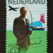 HOLLAND - CIRCA 1960: Stamp printed in the Netherlands - Stock Photo
