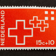 HOLLAND - CIRCA 1950: Stamp printed in the Netherlands - Stock Photo