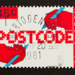 HOLLAND - CIRCA 1980: Stamp printed in the Netherlands — ストック写真