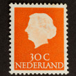 HOLLAND - CIRCA 1970: Stamp printed in the Netherlands — Stock Photo