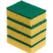 Kitchen sponge isolated — Stock Photo