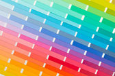 Vector colour card (paper) with various colors — Foto Stock