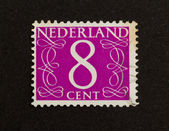 THE NETHERLANDS - CIRCA 1950: Stamp printed in the Netherlands — Zdjęcie stockowe