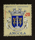 ANGOLA - 1968: Stamp printed in Angola — Stock Photo