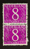 THE NETHERLANDS - CIRCA 1950: Stamps printed in the Netherlands — Stock Photo