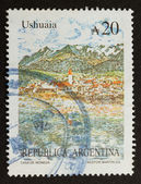 ARGENTINA - CIRCA 1980: Stamp printed in the Argentina — Stok fotoğraf