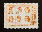 ECUADOR - 1985: Stamp printed in Ecuador — Stock Photo