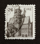 IRELAND - CIRCA 1980: Stamp printed in Ireland — Стоковое фото