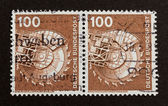 GERMANY - CIRCA 1980: Stamp printed in Germany — Stock Photo