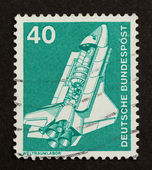GERMANY - CIRCA 1980: Stamp printed in Germany — Photo