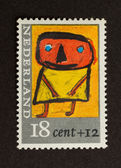 HOLLAND - CIRCA 1980: Stamp printed in the Netherlands — Stok fotoğraf