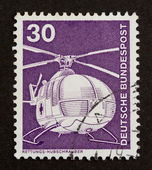 GERMANY - CIRCA 1980: Stamp printed in Germany — Foto Stock
