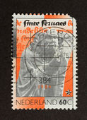 HOLLAND - CIRCA 1970: Stamp printed in the Netherlands — Foto de Stock