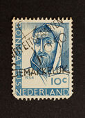 HOLLAND - CIRCA 1950: Stamp printed in the Netherlands — Foto de Stock