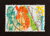 HOLLAND - CIRCA 1980: Stamp printed in the Netherlands — Стоковое фото